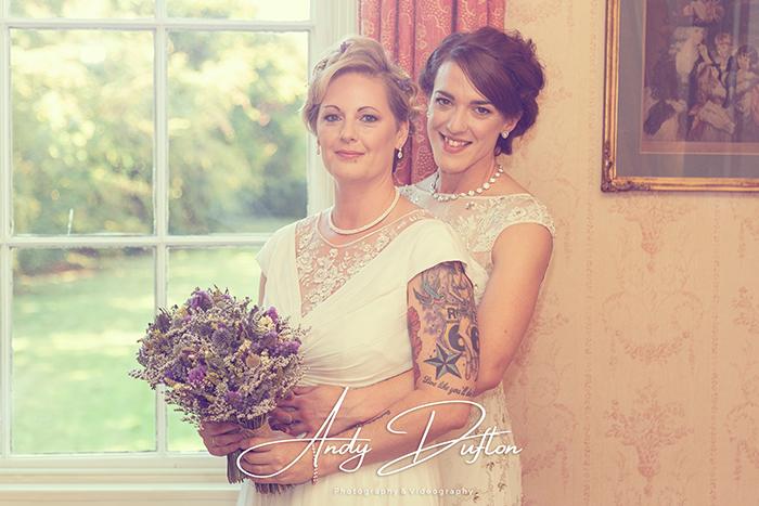 Wedding photography York Civil partnership wedding at Middlethorpe hall and spa