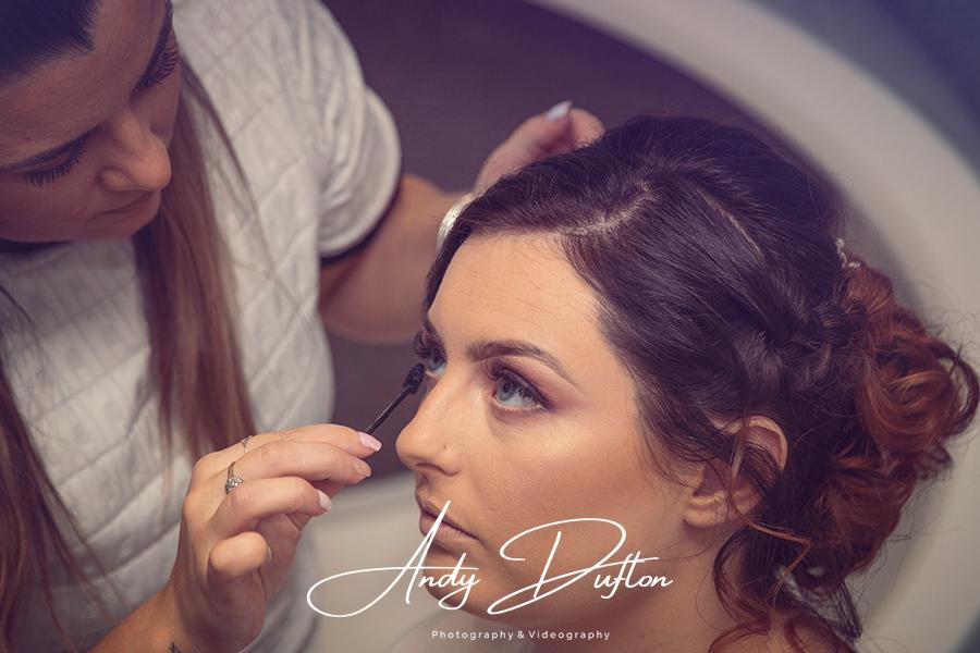 Bridal makeup North Yorkshire photographer