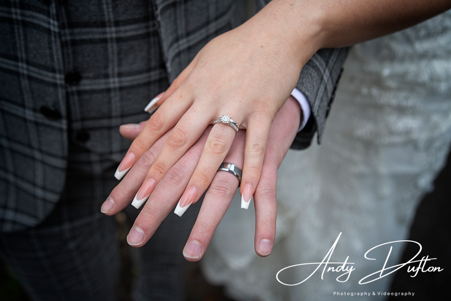 Wedding rings Yorkshire photographer